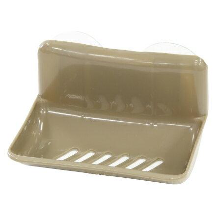 單格皂盒 KW-3 附吸盤 BR