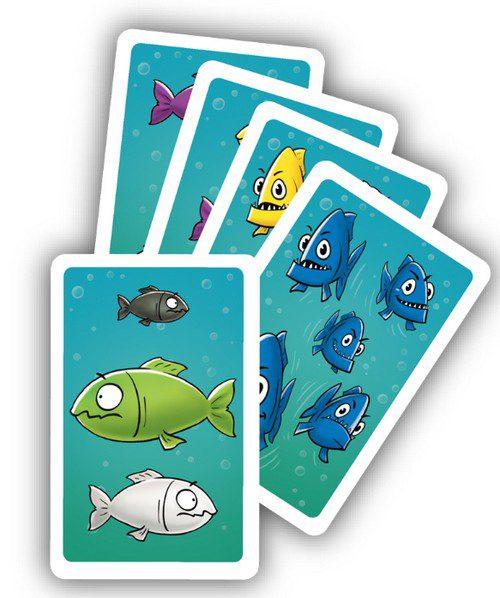含稅附發票 大魚吃小魚  繁中版 Piranhas 方舟風雲會益智桌遊 實體店正版