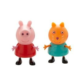 ~babygo~Peppa Pig~粉紅豬小妹公仔組2入6款~ 出貨~