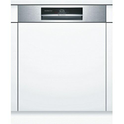 新款8系列110V沸石洗碗機 德國 BOSCH 博世 SMI88TS00X  沸石 半嵌式 洗碗機(60cm)(不銹鋼) ※熱線 07-7428010