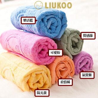 枕套/ 毛巾【LIUKOO-枕巾系列】舒適觸感枕巾六色可選,兩件一組$250,台灣製純棉壓花-戀家小舖CBC025