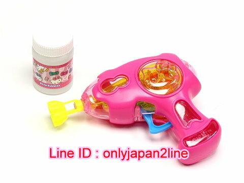 【真愛日本】16112100003泡泡槍玩具-KT    KITTY 凱蒂貓 三麗鷗 扮家家酒 兒童玩具 遊戲