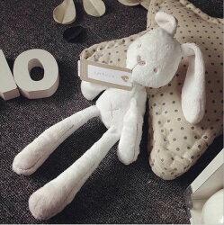 英國mamas&papas 長耳米利兔 陪睡必備 彌月禮 超柔軟 安撫玩具 寶寶床裝飾 防過敏兔娃娃【AJ134】