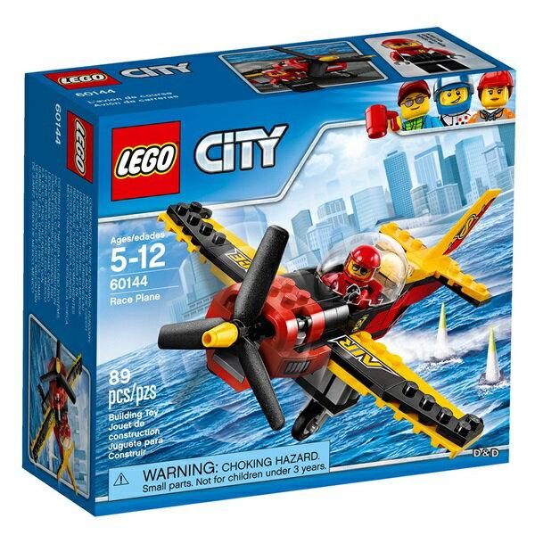 樂高積木LEGO《 LT60144 》2017 年 CITY 城市系列 - 競賽飛機