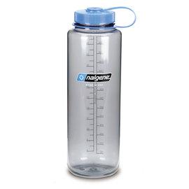 【速捷戶外】美國製 NALGENE 2178-0048 寬嘴水壺 1500cc 煙霧灰 (登山健行水瓶/兒童水壺)