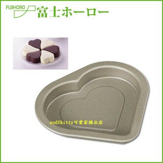 asdfkitty可愛家~ FUJIHORO不沾愛心模型~小~可做巧克力.麵包.蛋糕.鬆餅