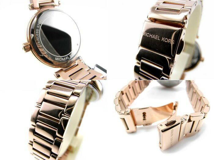 Outlet正品代購 Michael Kors MK 晶鑽羅馬數字 女錶 手錶 腕錶 玫瑰金 MK5971 2