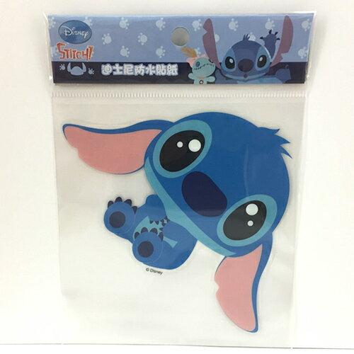 【真愛日本】15081200101 防水貼紙L-史迪奇Q版 迪士尼 星際寶貝 史迪奇 行李箱裝飾貼紙