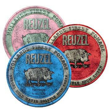 REUZEL 粉紅豬/藍豬/紅豬 水洗式油性髮油113g ★七彩美容百貨★
