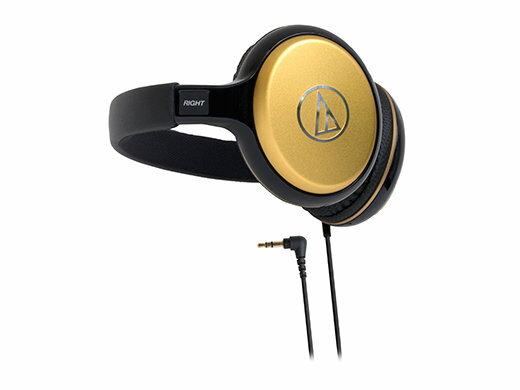 鐵三角 audio-technica ATH-S600(金色) 攜帶式後戴耳機 (鐵三角公司貨)