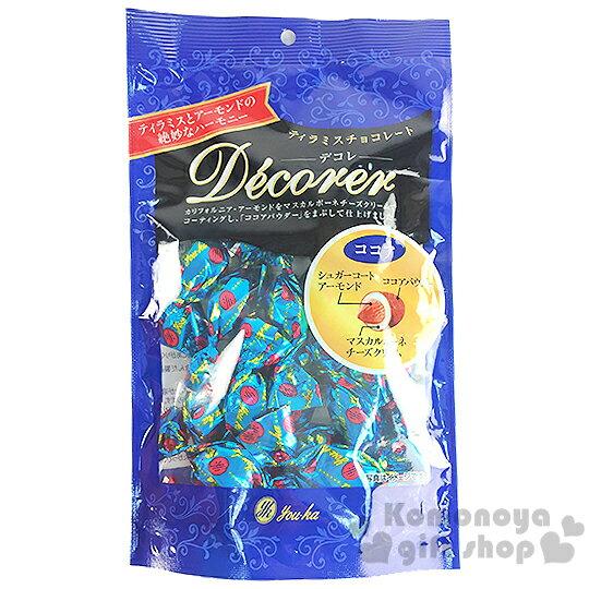 〔小禮堂〕日本原產 Youka Decorer 呼吸巧克力《76g.藍袋裝》杏仁可可亞口味