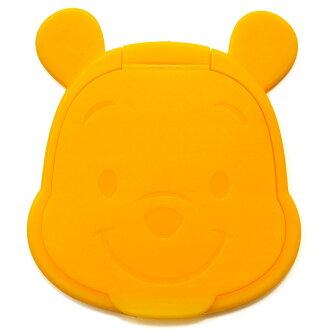 日本 Disney 重複黏濕紙巾用盒蓋【Winnie the Pooh 維尼】*夏日微風*