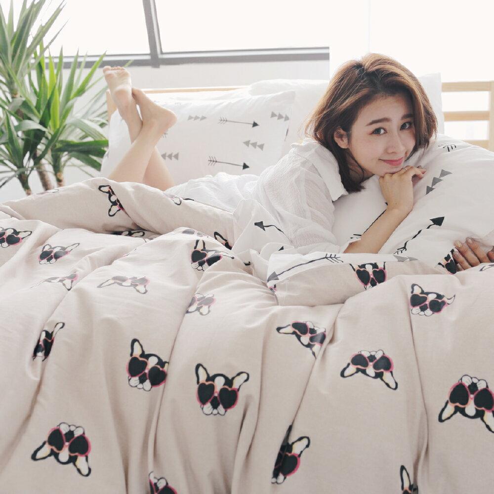 100%精梳棉雙人被套床包組