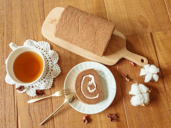 日本天皇獎-生巧克力捲16CM 生巧克力條X巧克力蛋糕X招牌生奶油 雙重巧克力口感征服您胃蕾 5