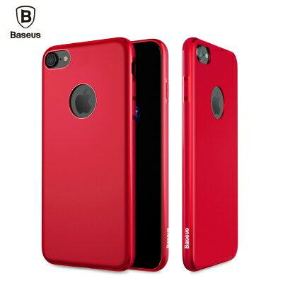 ☆Baseus倍思 蘋果iPhone7 Plus隱秘?吸纖維軟套