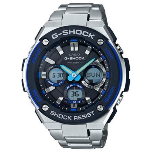 Casio G-Shock G-Steel Solar Power Ana-Digi Watch GSTS100D-1A2 0