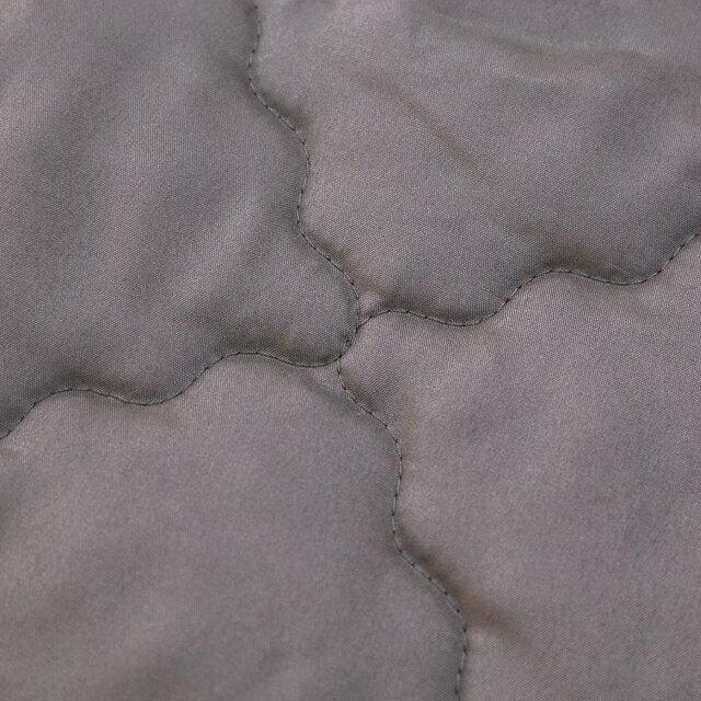 鐵灰床包式保潔墊 雙人5X6.2 抗菌防污  台灣製  厚實鋪棉 可水洗 2