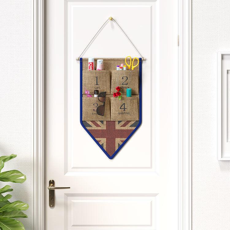 收納掛袋墻上壁掛門上學生門后浴室宿舍收納袋掛兜衣柜布藝儲物袋