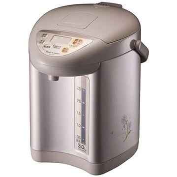 全館回饋10%樂天點數★象印ZOJIRUSHl 3段定溫電動熱水瓶3公升(CD-JUF30-CT)