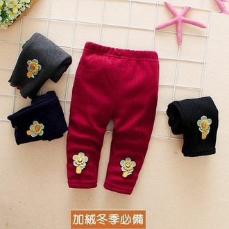 嬰幼兒長褲 加絨加厚內搭褲 長褲 棉褲 九分褲 童裝 XZH22861 好娃娃