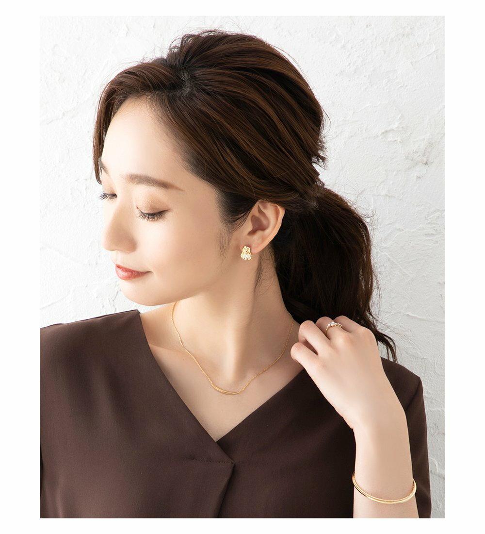 日本Cream Dot  /  不規則珍珠穿孔耳環  /  s00011  /  日本必買 日本樂天代購  /  件件含運 7