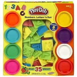 Play-Doh培樂多字母數字遊戲組(附8色黏土) 254元