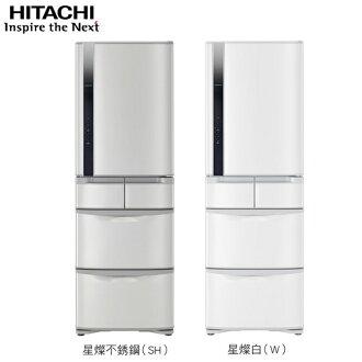 日立 HITACHI 420L五門 RS42FJ / R-S42FJ ‵業界變頻超窄60cm設計