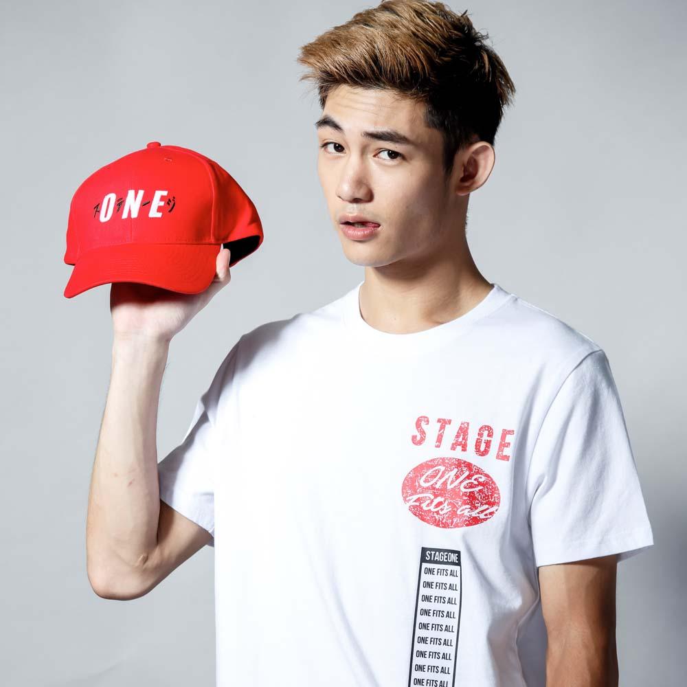STAGEONE ICHIBAN BASEBALL CAP 黑色 / 紅色 / 白色 三色 1