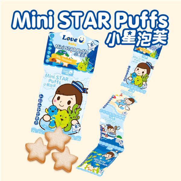 【淘氣寶寶】米大師小星泡芙-小魚海帶(4連包)