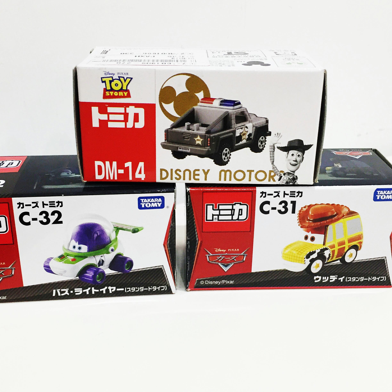 TOMY 玩具車 小汽車 多美 玩具總動員 巴斯光年 胡迪 坦克 賽車 cars 金屬模型