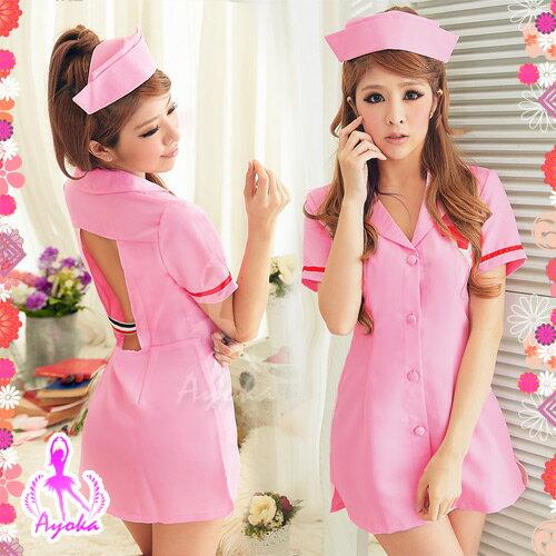 【紫星情趣用品】愛的慰藉!夢幻護士服二件組