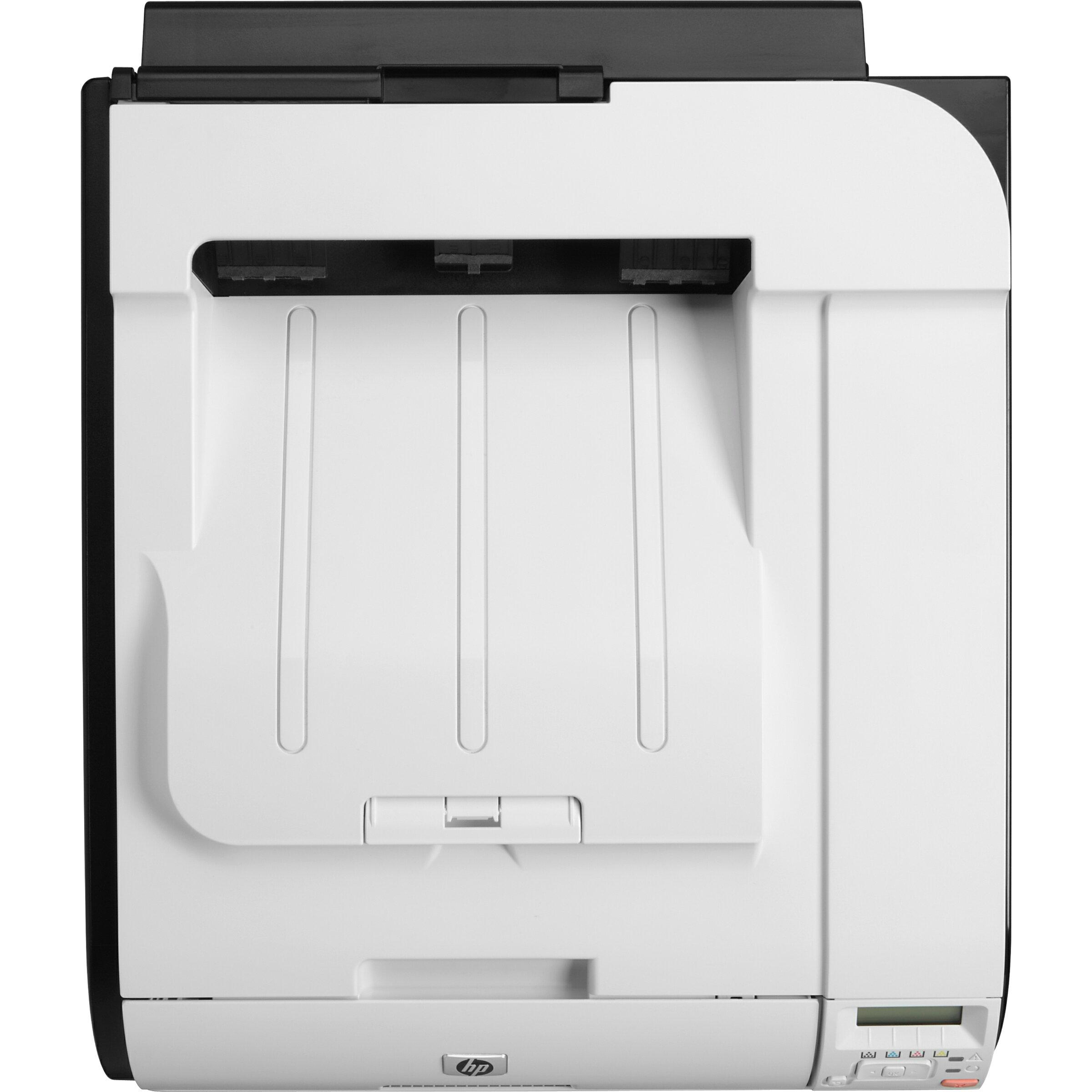 HP LaserJet Pro 400 M451DN Laser Printer - Refurbished - Color - 600 x 600 dpi Print - Plain Paper Print - Desktop - 21 ppm Mono / 21 ppm Color Print - 300 sheets Standard Input Capacity - 40000 pages per month - Automatic Duplex Print - LCD - Ethernet - 4