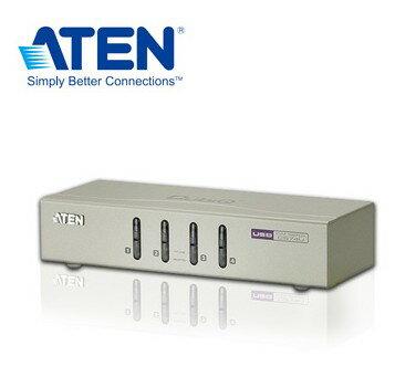 【迪特軍3C】ATEN 4埠 USB KVM多電腦切換器 一組VGA控制端可管理4台(CS74U) DDC2B 支援無線鍵鼠