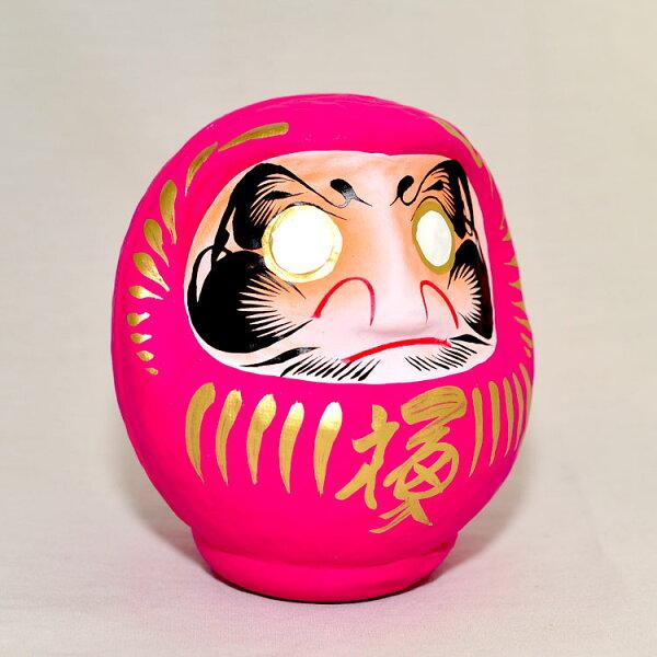 日本製心願成就開運彩繪達摩福神不倒翁群馬縣高崎生產桃色桃花運戀愛運增強