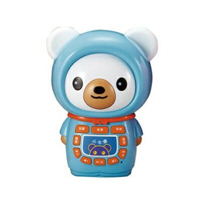 小牛津 帽T熊故事機(買就送防摔衣)-熊藍