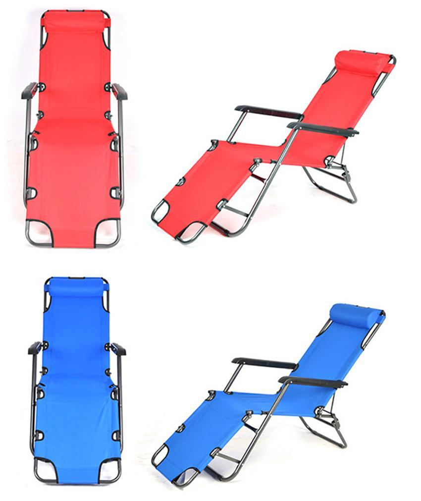 Outdoor Lounge Chair Zero Gravity Folding Recliner Patio 0