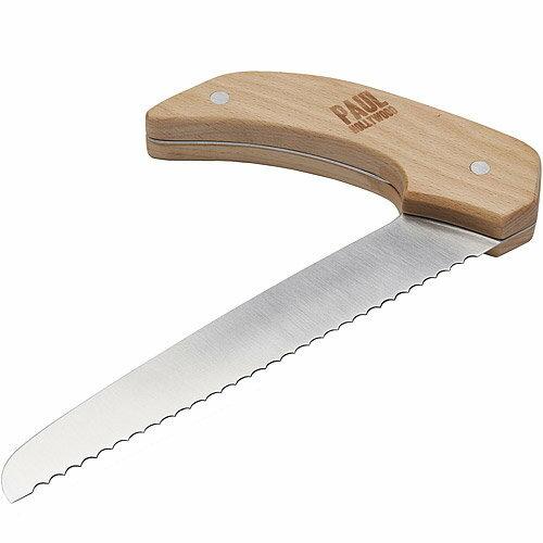 《KitchenCraft》Paul木柄鋸齒麵包刀