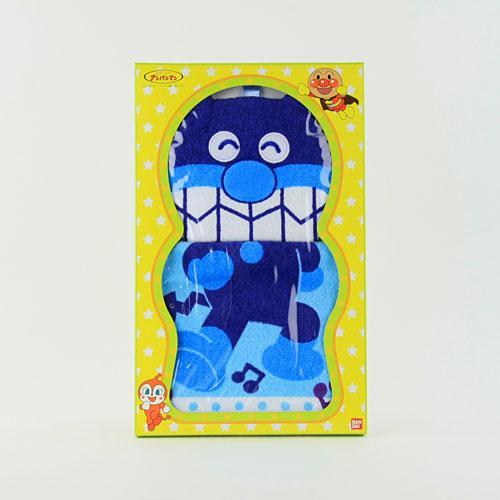 日本 Anpanman 麵包超人擦手巾 - 細菌人
