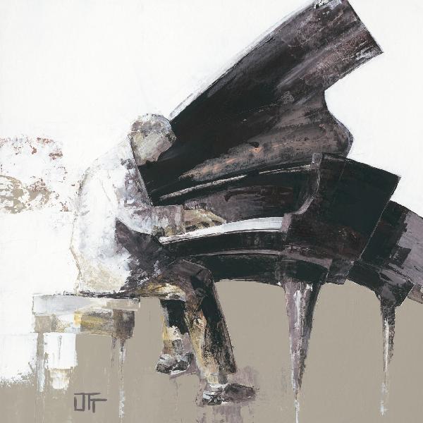 音樂鋼琴圖壁畫訂製壁畫e22068