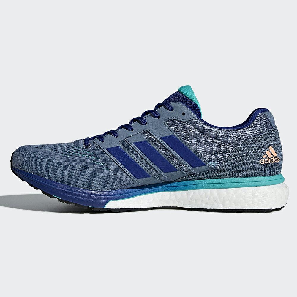 Adidas Adizero Boston 7 男鞋 慢跑 BOOST 輕量 透氣 避震 藍 【運動世界】 BB6535