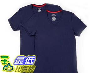 [COSCO代購 如果沒搶到鄭重道歉] Polo Ralph Lauren 男短袖 V 領 T 恤 2 入 _W1031461