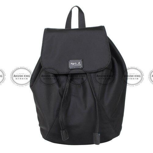 Outlet代購 agnes.b 亞洲限定款 後背包 小b (黑色) 二 色 書包 通勤包 雙肩包 斜挎包 防水 0