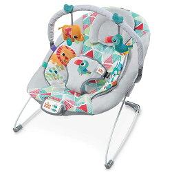 【麗嬰房】Kids II - Bright Starts 攜帶式安撫搖床玩具組-巨嘴鳥保鏢