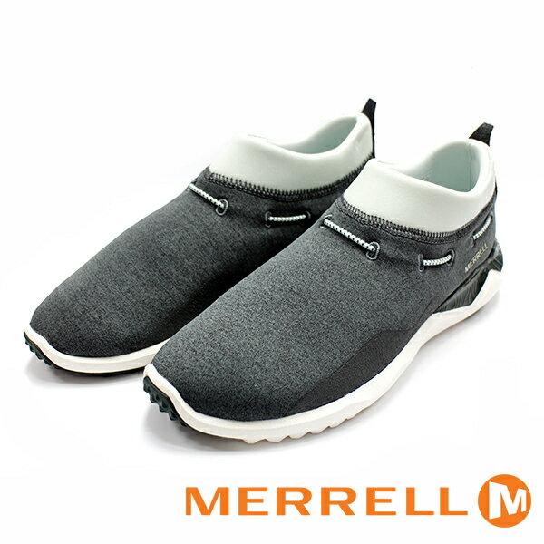 【MERRELL 促銷6折│全店免運】MERRELL 1SIX8 MOC 女鞋 灰綠色 健行鞋│休閒鞋-ML01948