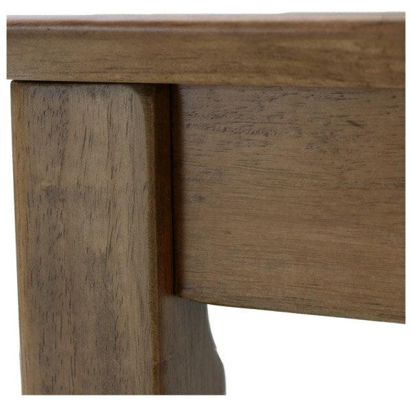 ◎(OUTLET)實木餐桌 SOLID2 135 MBR 橡膠木 福利品 NITORI宜得利家居 3