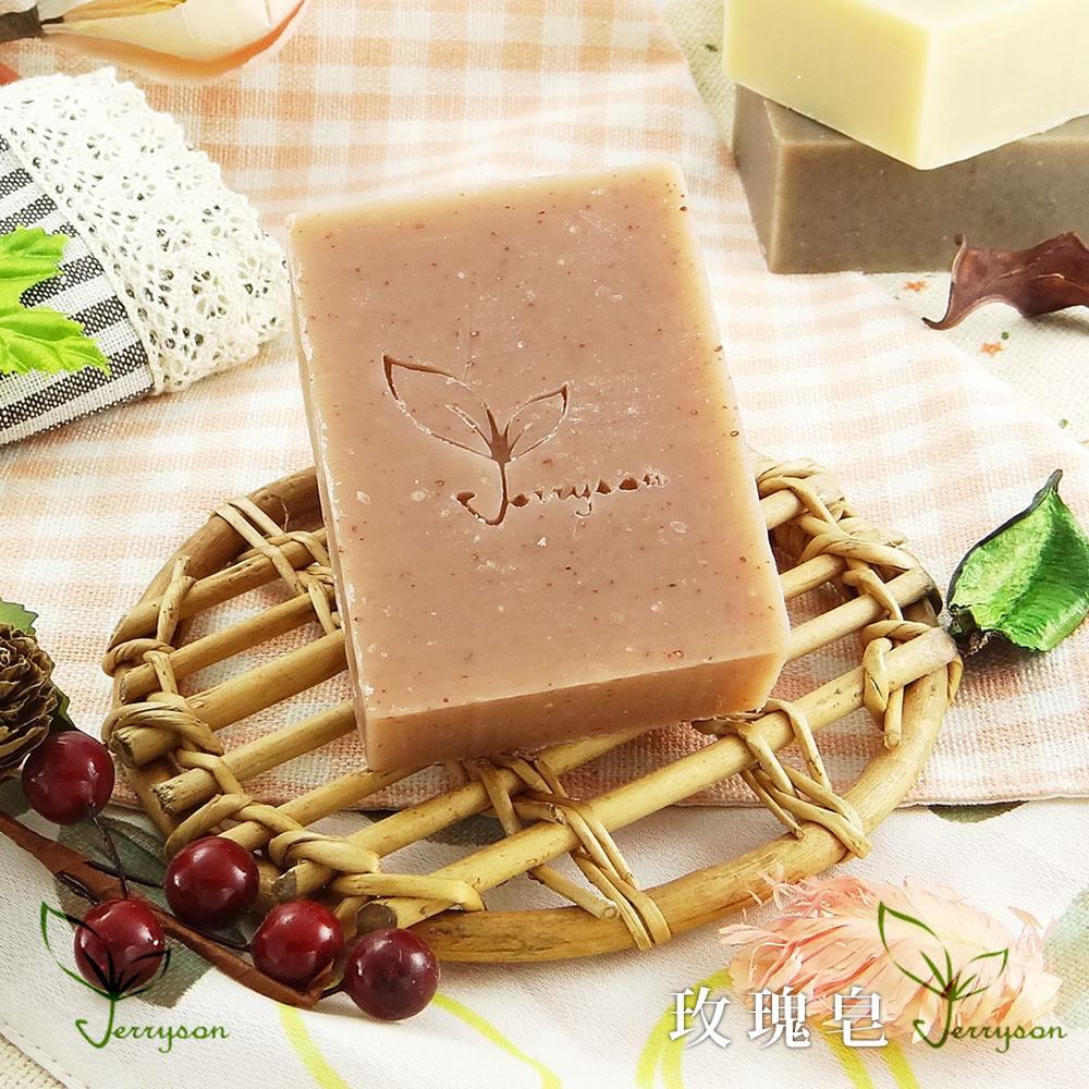 【Jerryson】天然手工玫瑰皂