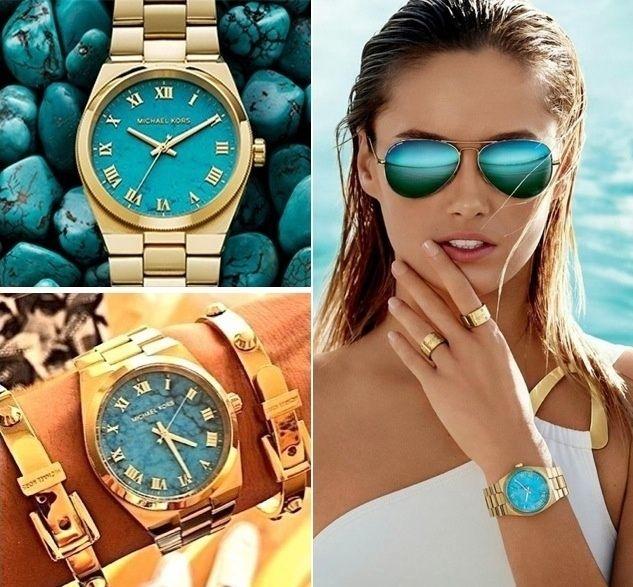 美國 Outlet 美國正品代購 Michael Kors MK 不鏽鋼 藍面 玫瑰金錶帶 三環計時日曆手錶腕錶 MK6164【輸入:coupon03 現折50】 1