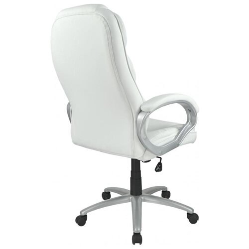 Swell High Back Computer Leather Ergonomic Office Chair O10 White Download Free Architecture Designs Grimeyleaguecom