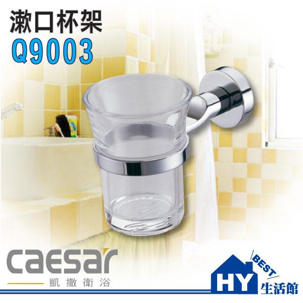 凱撒 Q9003 牙刷杯架 漱口杯架 單杯架~HY 館~水電材料