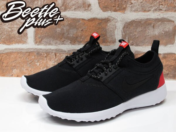 女生 BEETLE NIKE WMNS JUVENATE TP 黑紅 黑白 慢跑鞋 749551-002 2
